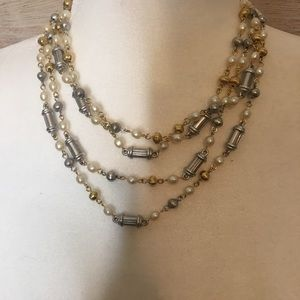 Vintage layered necklace 😍
